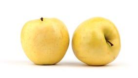 Amarillo de Apple Foto de archivo libre de regalías