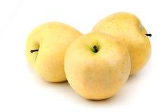Amarillo de Apple Fotografía de archivo