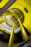 Amarillo de la estructura de acero Imagen de archivo