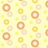 Amarillo de la flor fotos de archivo