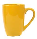 Amarillo de la taza Fotos de archivo