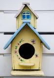Amarillo de madera de Nide Foto de archivo libre de regalías