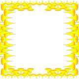 Amarillo de Wallper Foto de archivo libre de regalías
