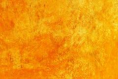 Amarillo del cemento de Grunge imagen de archivo
