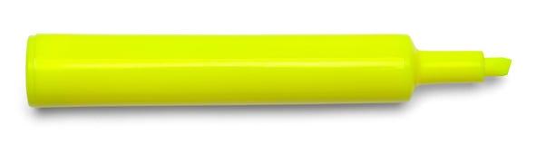 Amarillo del Highlighter del marcador Fotos de archivo libres de regalías