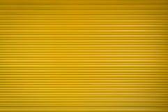 Amarillo del obturador del metal Fotografía de archivo
