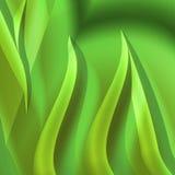 Amarillo del verde del fondo de la fantasía Foto de archivo libre de regalías