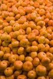 Amarillo-naranja Fotos de archivo