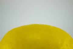 Amarillo natural orgánico healty de la fruta fresca del limón Fotos de archivo libres de regalías