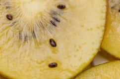 Amarillo o primer de los kiwis del oro Fotografía de archivo
