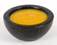 Amarillo-Paprika-Soße stockfoto