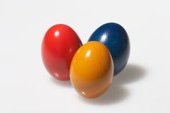 Amarillo, rojo y azul Imagenes de archivo
