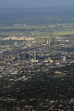 Amarillo, Texas. An aerial view of Amarillo, Texas. Amarillo is the largest city and the regional economic center of the Texas Panhandle Stock Images