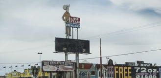 Amarillo, TX die große Texaner-Steak-Ranch lizenzfreies stockfoto