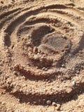 Amarillo y gris de la arena foto de archivo