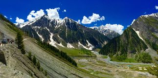 Amarnath base camp Stock Image