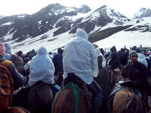 Amarnath Yatra Stock Images