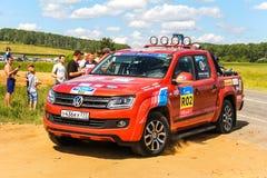 amarok volkswagen Royaltyfria Bilder