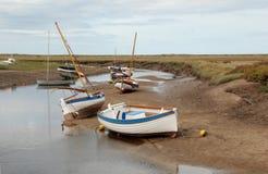 Amarrado em Norfolk - 2 fotografia de stock