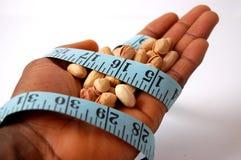 Amarrado em uma dieta - Pistachios Imagem de Stock
