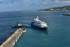 Amarrage Bridgetown Barbade du rêve 1 de mer Photos stock