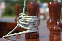 Amarrage de corde photographie stock