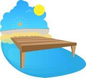 Amarrage de soleil Image libre de droits