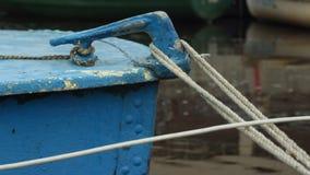 Amarrar el barco viejo del listón imagen de archivo libre de regalías