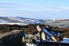 Amarre au-dessus de Haworth Photo libre de droits