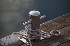 Amarre del barco Fotos de archivo libres de regalías
