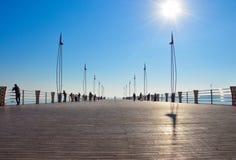Amarre del mar Imagen de archivo libre de regalías