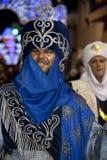 Amarre et fiesta de chrétiens - Espagne Images stock