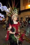 Amarre et fiesta de chrétiens - Espagne Image stock