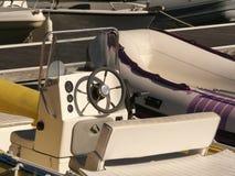 Amarre y barcos Foto de archivo libre de regalías
