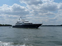 The Amarylis. How the wealthy travel along the Hudson River in New York Royalty Free Stock Image
