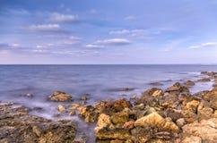 Amasing żołnierza piechoty morskiej krajobraz Zdjęcia Stock