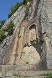 Amasra鸟岩石路纪念碑 免版税库存图片
