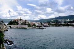 Amasra Bay to the Black Sea royalty free stock photo