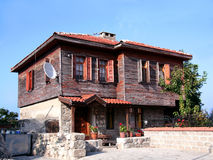An Amasra house Royalty Free Stock Photography