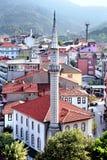 Amasra Mosque. Amasra iskele Camii at Bartin in Turkey royalty free stock photos