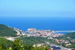 Amasra os locais de encontro os mais bonitos Turquia do feriado Fotografia de Stock Royalty Free
