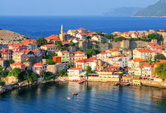 Amasra resort town, Black Sea Coast, Turkey Royalty Free Stock Photo