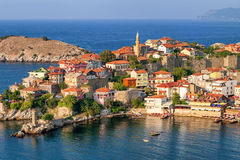 Amasra resort town, Black Sea Coast, Turkey Royalty Free Stock Images