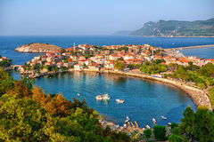 Amasra town on the Black sea coast, Turkey Royalty Free Stock Photo
