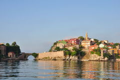Amasra town Turkey Stock Image