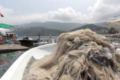 Amasra ? um recurso pequeno e encantador na costa do Mar Negro de Turquia imagem de stock royalty free