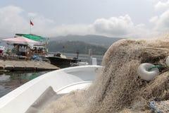 Amasra ? um recurso pequeno e encantador na costa do Mar Negro de Turquia fotografia de stock