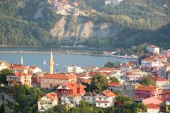 Amasra view. Amasra Town  Black Sea  Turkey Royalty Free Stock Photo