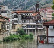 Amasya. Beautiful home And Street royalty free stock photo