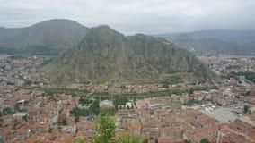 Amasya da parte superior da cidade Fotografia de Stock Royalty Free
